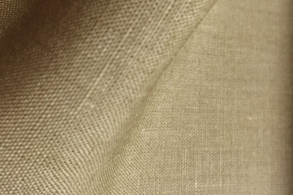 6514 - LIGHT BROWN Irish Suit Linen (280 grams / 9 Oz)