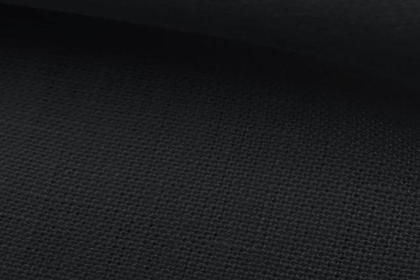 6518 - BLACK Irish Suit Linen (280 grams / 9 Oz)