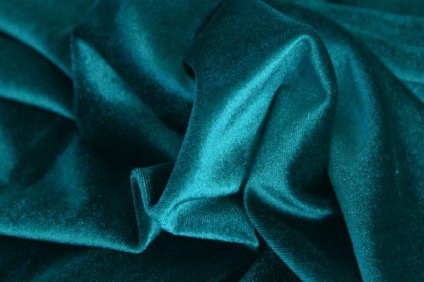 6562 - PETROL VELVET English Suit Cotton (310 gms / 11 Oz)
