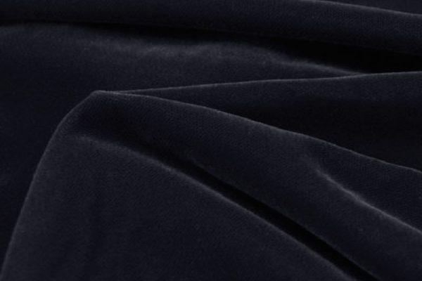 6566 - NAVY VELVET English Suit Cotton (310 gms / 11 Oz)