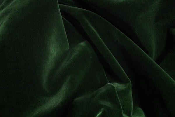 6567 - BOTTLE GREEN VELVET English Suit Cotton (310 gms / 11 Oz)