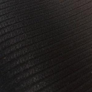 6603 Black - 8 Wale Corduroy