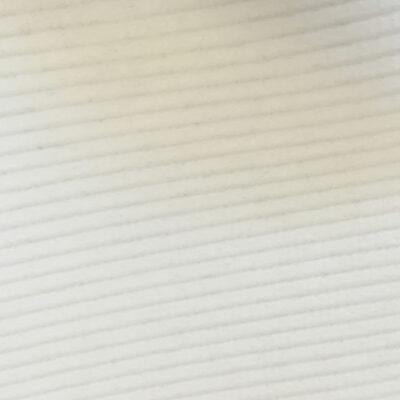 6605 White - 8 Wale Corduroy