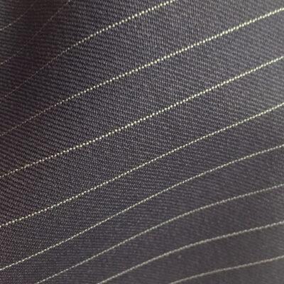 H2129 - NAVY (Narrow White Pin Stripe 280-300 grams / 9.5-10.5 Oz)