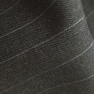 H2134 - CHARCOAL (White Pin Stripe 280-300 grams / 9.5-10.5 Oz)