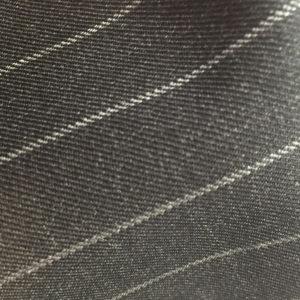 H2137 - CHARCOAL (White Rope Stripe 280-300 grams / 9.5-10.5 Oz)