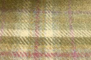 H2505 - Olive W/Gold Lilac Checks (425 grams / 15 Oz)
