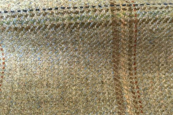 H2542 - Pale Beige W/ Navy Green Rust WP (425 grams / 15 Oz)