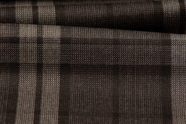 H3103 - Grey Plaid Check W/ Grey Black OC (270 grams / 9 Oz)