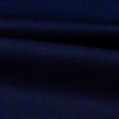 H3108 - Navy W/ Blue Black OC Plaid (270 grams / 9 Oz)