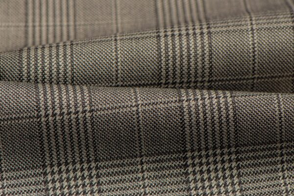 H3114 - Grey Tram Check (270 grams / 9 Oz)