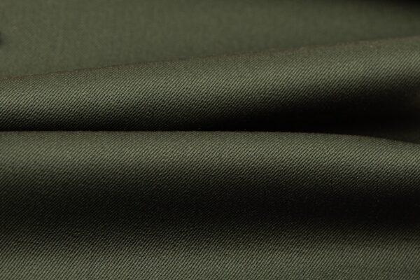H3128 - Green Plain Gabardine (270 grams / 9 Oz)