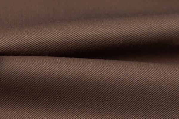H3130 - Brown Plain Gabardine (270 grams / 9 Oz)