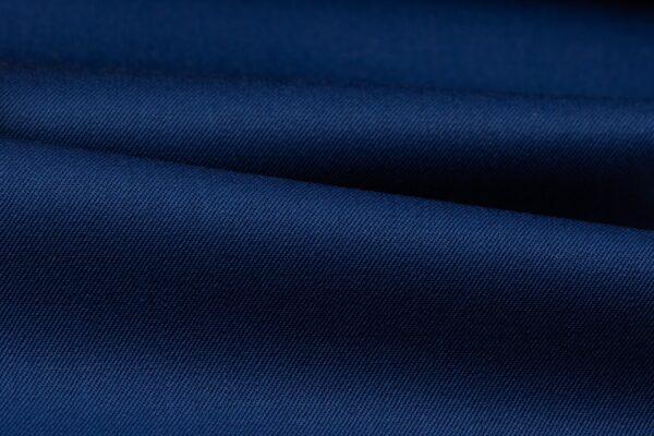 H3131 - Blue Plain Gabardine (270 grams / 9 Oz)