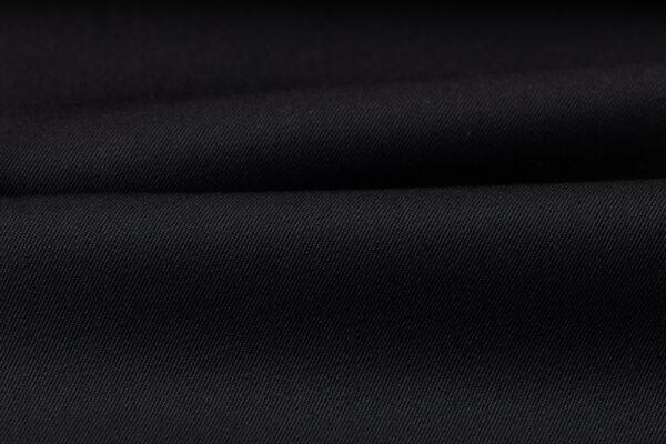 H3140 - Black Plain Gabardine (270 grams / 9 Oz)