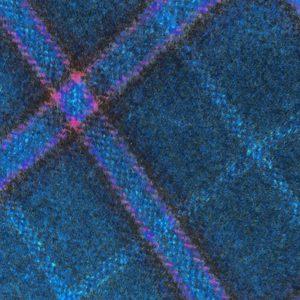 H3401 - Blue Check W/ Pink Navy Brown (390 grams / 13.5 Oz)