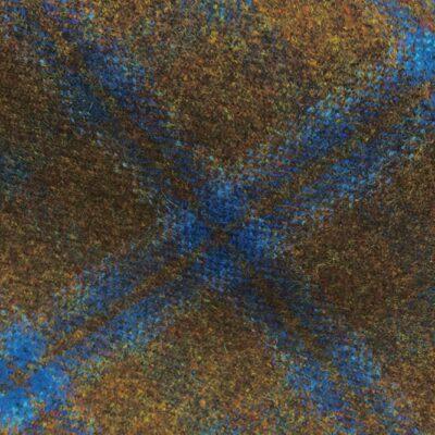 H3402 - Brown Check W/ Blue (390 grams / 13.5 Oz)