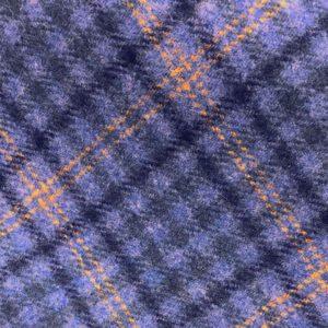 H3403 - Light Blue Check W/ Navy Yellow (390 grams / 13.5 Oz)