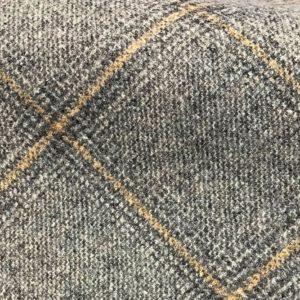 H3411 - Grey Check W/ Fawn Grey (390 grams / 13.5 Oz)