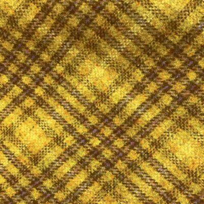 H3413 - Mustard Check W/ Lilac White (390 grams / 13.5 Oz)