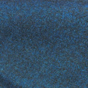 H3420 - Electric Blue Herringbone (390 grams / 13.5 Oz)