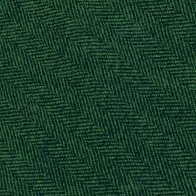 H3421 - Green Herringbone (390 grams / 13.5 Oz)
