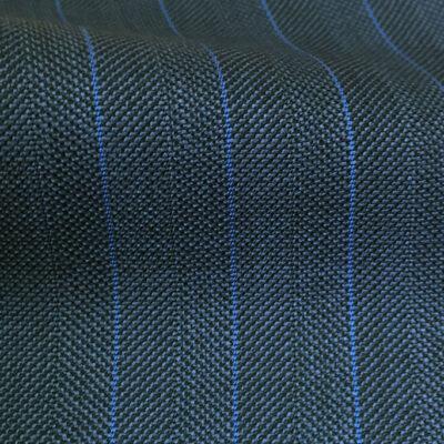 H3600 - Blue Herringbone W/ Blue 12mm Pin (285 grams / 9 Oz)