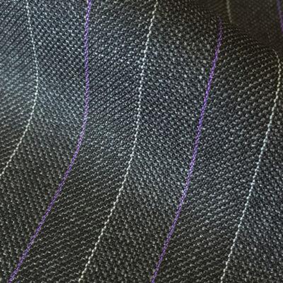 H3607 - Dk Grey W/ Purple White 10mm Pins (285 grams / 9 Oz)