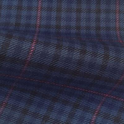 H4106 - Blue Gingham W/ Purple OC (285 grams / 9 Oz)