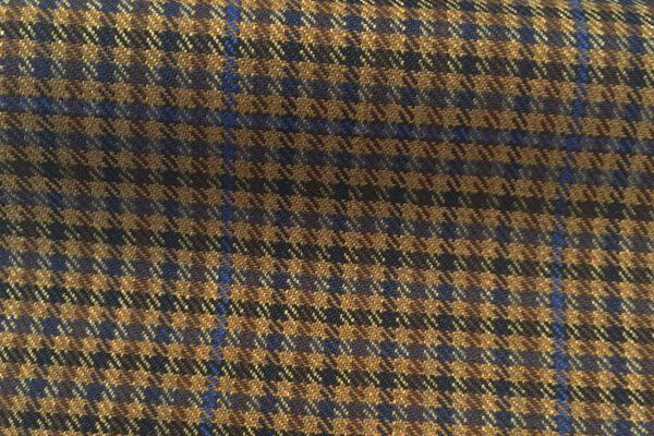 H4113 - Fawn Gingham W/ Blue OC (285 grams / 9 Oz)