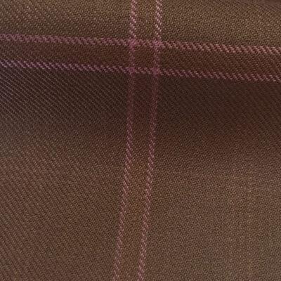 H4118 - Choc Brown W/ Pink Check (285 grams / 9 Oz)