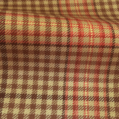 H4121 - Fawn Gingham W/ Red OC (285 grams / 9 Oz)