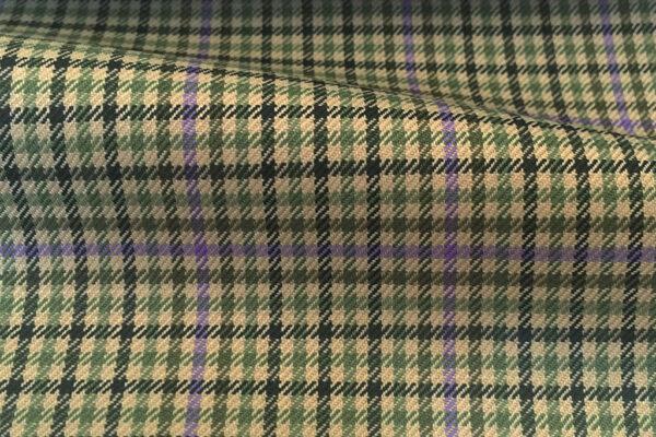 H4134 - Olive Gingham W/ Purple OC (285 grams / 9 Oz)