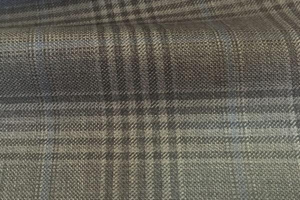 H4139 - Mid Grey Check W/ Blue Grey OC (285 grams / 9 Oz)