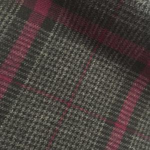 H4217 - DARK GREY - Pink Check (290-310 grams / 10 Oz)