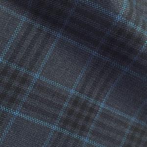 H4227 - FRENCH BLUE - Fancy Check (230-250 grams / 8 Oz)