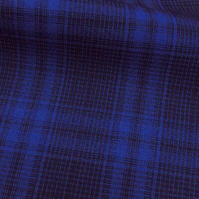 H5100 - NAVY WITH ROYAL BLUE CHECK (240 grams / 8.5 Oz)