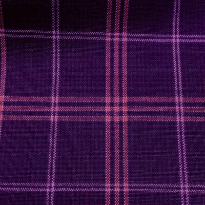 H5105 - PURPLE WITH RED PINK CHECK (240 grams / 8 Oz)