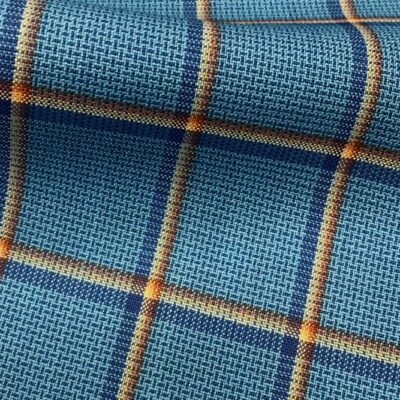 H5106 - TURQUOISE WITH RED WHITE BLUE CHECK (240 grams / 8 Oz)
