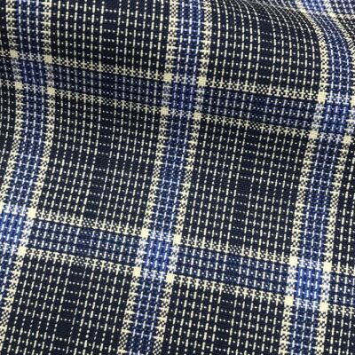 H5107 - NAVY WITH WHITE BLUE CHECK (240 grams / 8 Oz)