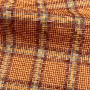 H5111 - ORANGE WITH BLUE RED CHECK (240 grams / 8 Oz)