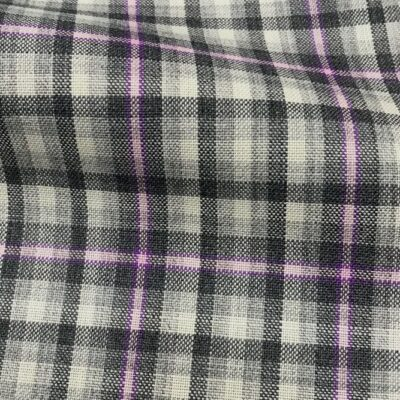 H5112 - GREY WITH CHARCOAL LILAC CHECK (240 grams / 8 Oz)