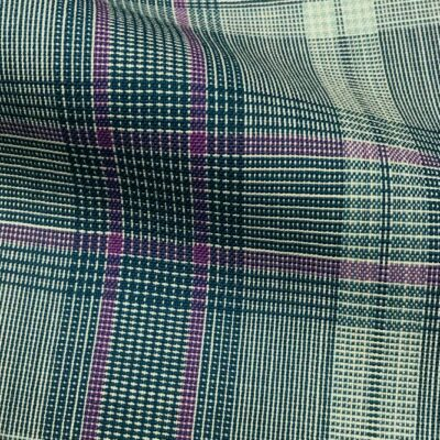 H5113 - LIGHT GREEN WITH GREEN LILAC CHECK (240 grams / 8 Oz)
