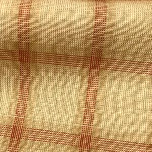 H5118 - BEIGE WITH RED CHECK (240 grams / 8 Oz)