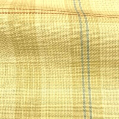 H5119 - SAND WITH BLUE RED CHECK (240 grams / 8 Oz)