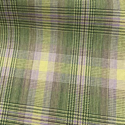 H5121 - GREEN WITH LIME LILAC CHECK (240 grams / 8 Oz)