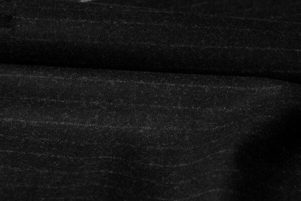 H7116 - Dark Grey W/ White Chalk Stripe (300 grams / 10 Oz)