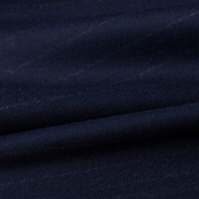 H7117 - Navy W/ White Chalk Stripe (300 grams / 10 Oz)