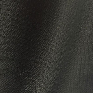 H7314 - BLACK 2mm HERRINGBONE (275 grams / 8 Oz)