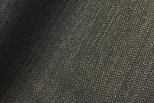 H7315 - DARK GREY 2mm HERRINGBONE (275 grams / 8 Oz)